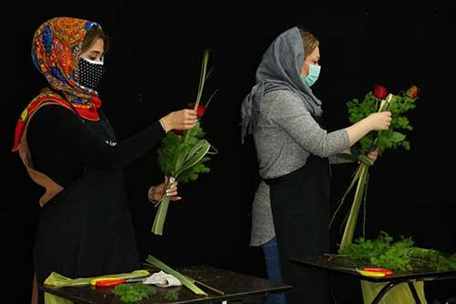 تاسیس گل فروشی