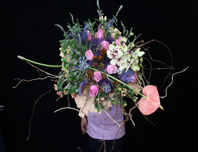 سبک های گل آرایی در تزیین گل