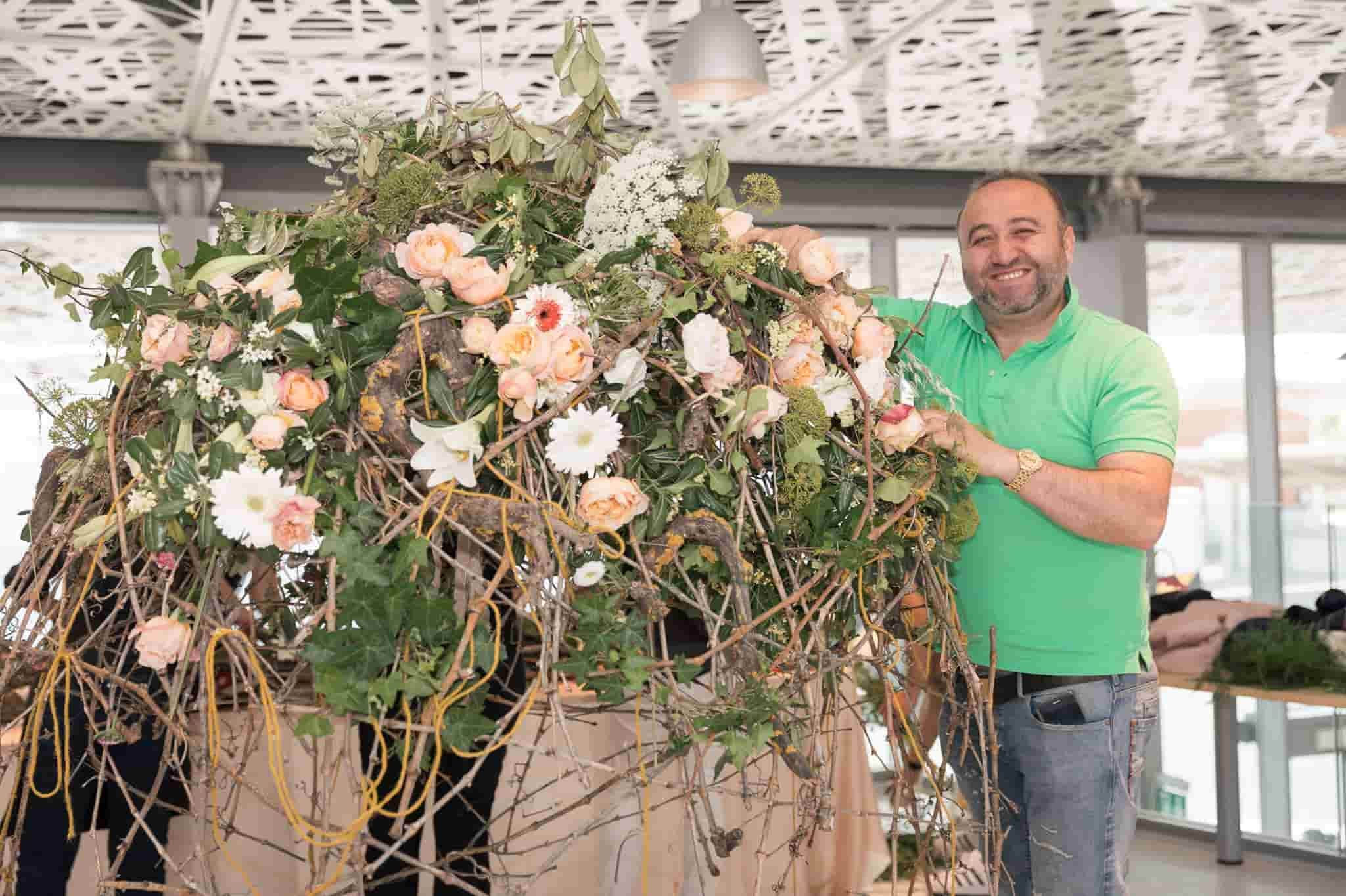 Meet the flower arranging masters of the world